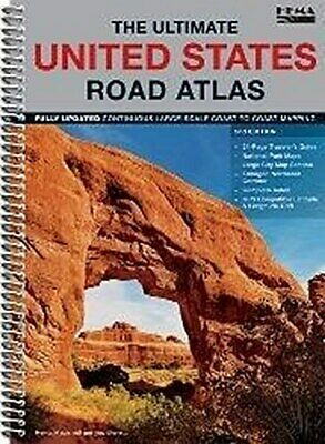 The Ultimate United States Road Atlas ~  ~  9781934006894