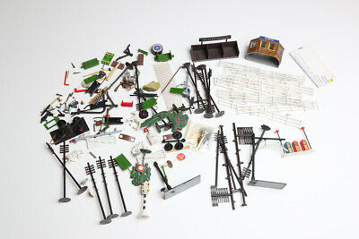 OO Gauge Model Railway Scenery Accessories Incl People Benches Job Lot Bundle