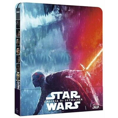 Preorder 8 aprile 2020 - STAR WARS L'ASCESA DI SKYWALKER - Steelbook 3D Blu-Ray