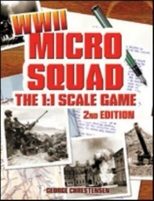 GHQ Historical Mini Rules Micro Squad - The Game, WWII (2nd Edition) SC NM