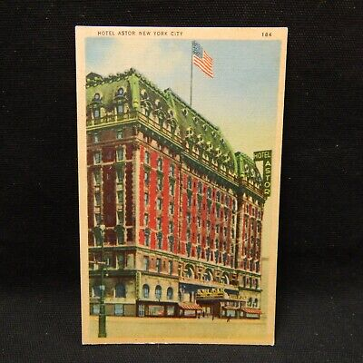 Postcard Hotel Astor, New York City