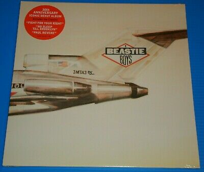 BEASTIE BOYS - Licensed To Ill - 30th Anniv vinyl LP - NEW & SEALED - 1P START!