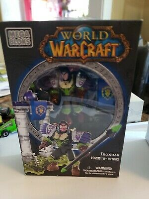 IRONOAK Mega Bloks World of Warcraft night elf hunter 91002 WOW megabloks