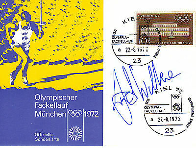 David Wilkie Autographed Pic.swimming Olympic Games