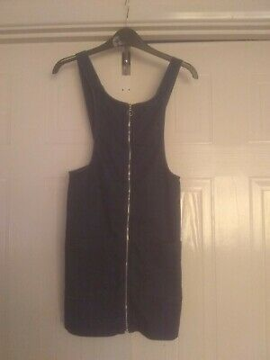 Marks & Spencer Blue Denim Pinafore Dress Age 9-10 Years