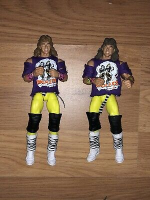 WWE Mattel Legends Figures Shawn Michaels And Marty Janetty The Rockers Loose
