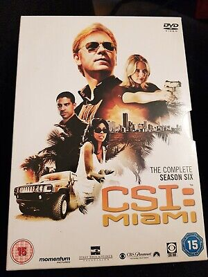 CSI Crime Scene Investigation Miami Complete Series 6 Box Set