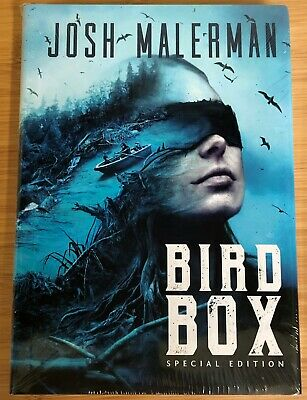publisher sealed ~ Bird Box ~ Signed Hardcover #448 ~ by Josh Malerman ~ Netflix