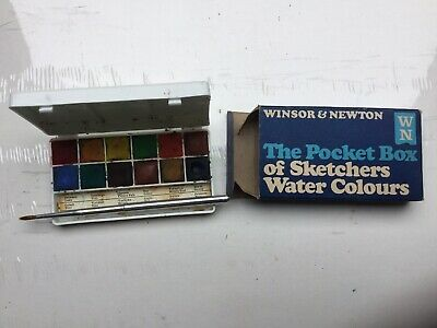 Winsor & Newton The Pocket Box Of Sketchers Water Colours