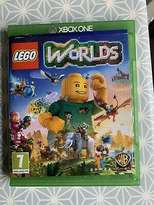 Lego Worlds Xbox One Console Video Game Mxbog0219