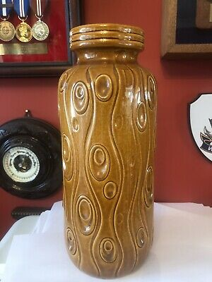 Retro 1960's/70's Large West German Vase
