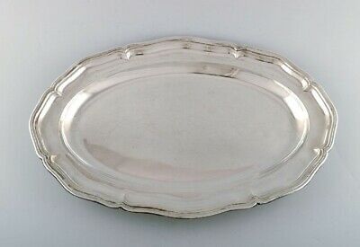 Danish silversmith. Large serving dish in silver (830). Dated 1936.