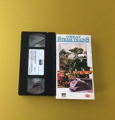 Great Steam Trains Video Vhs Carded Slipcover Sleeve Rail 150 1975 This Is York