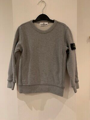 Authentic Stone Island Grey Jumper Boys Age 4