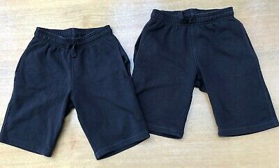 M&S Boys' Cotton Rich Shorts x 2 (Age 9 - 10). Regular Fit, Elasticated Waist.