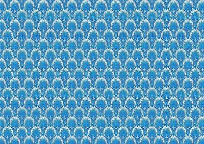 Dolls House Wallpaper 180gsm Matte Photo Paper 1//12th Scale Peppa Pig Blue