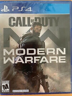 PS4 Call Of Duty Modern Warfare 2019