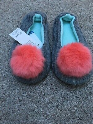 Marks And Spencer Slippers Girls Size 2. Brand New with Tags. Machine Washable