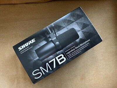 Shure SM7B Dynamic Wired Professional Microphone