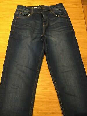 Boys NEXT skinny jeans age 12 years blue new without tags