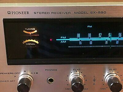 Pioneer SX 990 Stereo Receiver - 1970's classic - functional - plug and play
