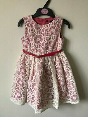 New ex Marks & Spencer M&S Autograph Lace Dress 18-24 months Party