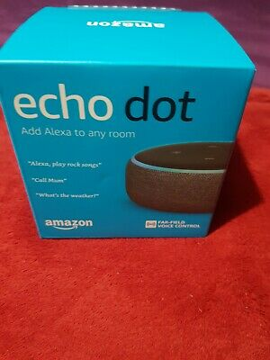 Amazon Echo Dot (3rd Generation) - Smart Speaker with Alexa. Brand New. 3rd Gen.