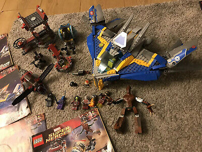 Lego Marvel Guardians Of The Galaxy 76021 76020