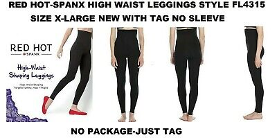 Red Hot By Spanx High Waist Seamless Leggings Size X-Large/Tag/Style Fl4315