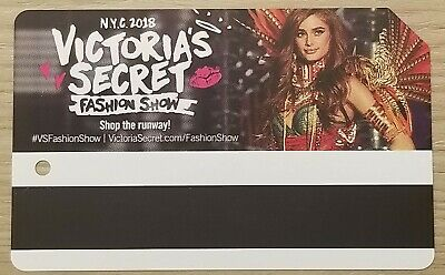 Collectible MetroCard Victoria's Secret Fashion Show Taylor Hill Expired Limited