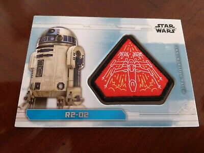 Topps Star Wars The Rise Of Skywalker Patch Card R2-R2 Pc-X