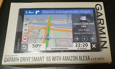 Garmin drivesmart 65 MT-S With Amazon Alexa