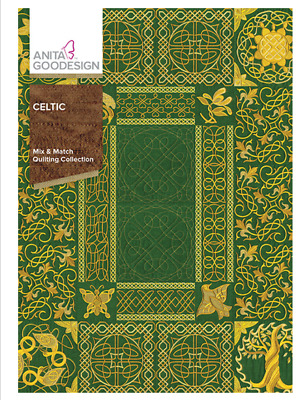 Anita Goodesign Machine Embroidery / Quilting Patterns - Celtic