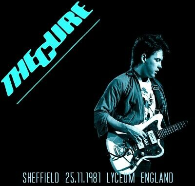 THE CURE LIVE Sheffield 25.11.1981 Lyceum (England) 2CDS