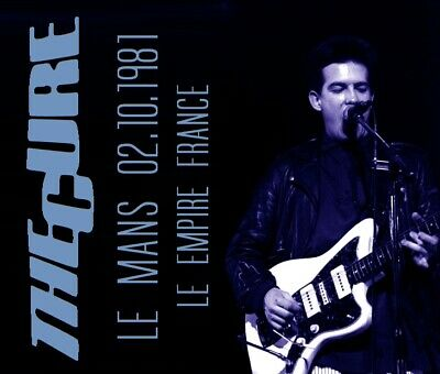 THE CURE LIVE  Le Mans 02.10.1981 L'Empire (France) 2CDS