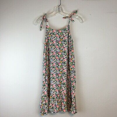 Old Navy Girls NWT Brightly Colored Floral Spaghetti Strap Dress Size XL 14