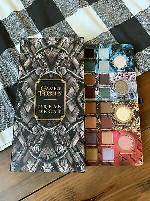 Urban Decay Game Of Thrones Eyeshadow Palette New in Box!