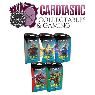 Magic the Gathering TCG Theros Beyond Death Theme Booster Set of 5