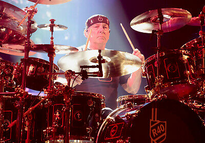 Rush: Neil Peart 24x36 rolled Poster