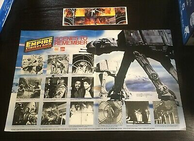 Star Wars Empire Strikes Back 1980 Burger King Coca-Cola Super Scene Collection