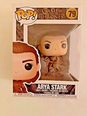 Funko POP! Game of Thrones - Arya Stark (Battle of Winterfell) #79 - New