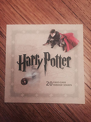 Usps Harry Potter Forever Stamp Book 20-Stamps-Collector's Item-New