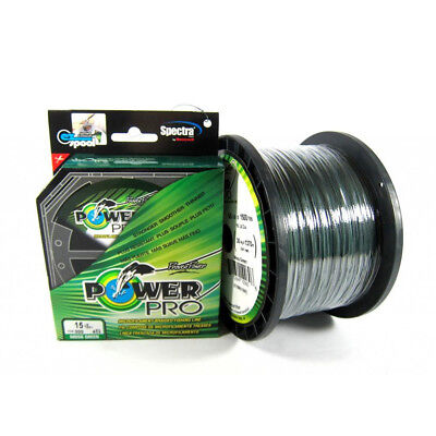 Braided Spectra Line 20lb by 150yds Green (1085) Power Pro