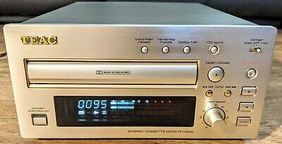 Teac R-H300 Reference Stereo Cassette Tape Deck Player Recorder HiFi Separate