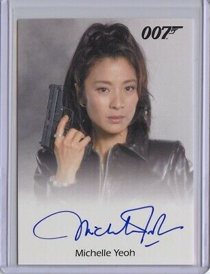 2017 James Bond Archives Final Edition MICHELLE YEOH Full Bleed Autograph