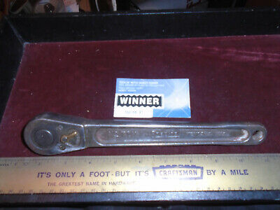 "!VINTAGE! SNAP ON TOOLS No.71N = 1/2"" DRIVE RATCHET 1939(?)$PRICE$ REDUCED!!!"