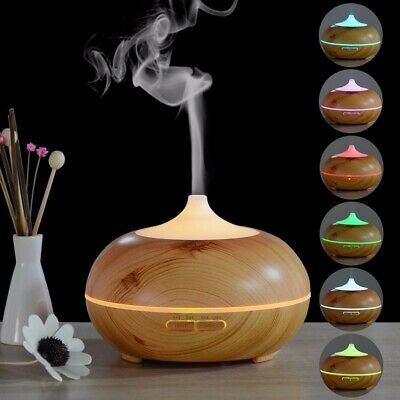 Essential Oil Aroma Diffuser Ultrasonic Humidifier Aromatherapy LED Purifier NEW