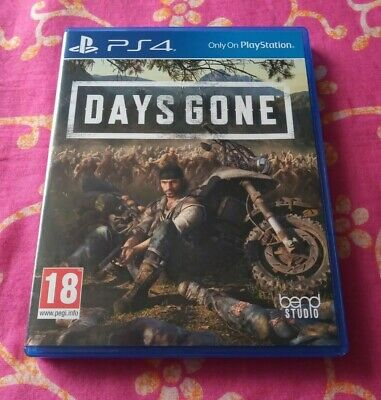 Days Gone PS4 PlayStation 4 Mint Condition Played Once