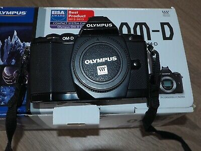 OLYMPUS OMD-M5 4/3rds digital camera for working okay but needs repair or spares