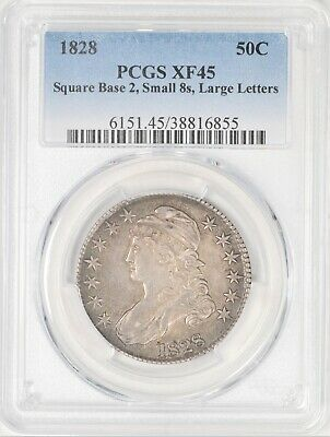 1828 Capped Bust Half Dollar PCGS XF45 #ARP2